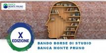 Bando borse di studio Banca Monte Pruno