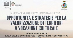 Workshop opportunità e strategie per la valorizzazione di territori a vocazione culturale