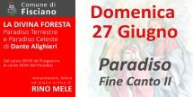 La Divina Foresta - Paradiso fine Canto II