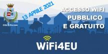 Attivo il servizio WiFi4EU